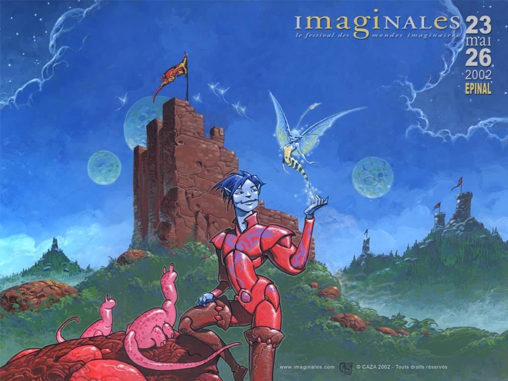 L'affiche de la 1ère édition en 2002 par Caza !