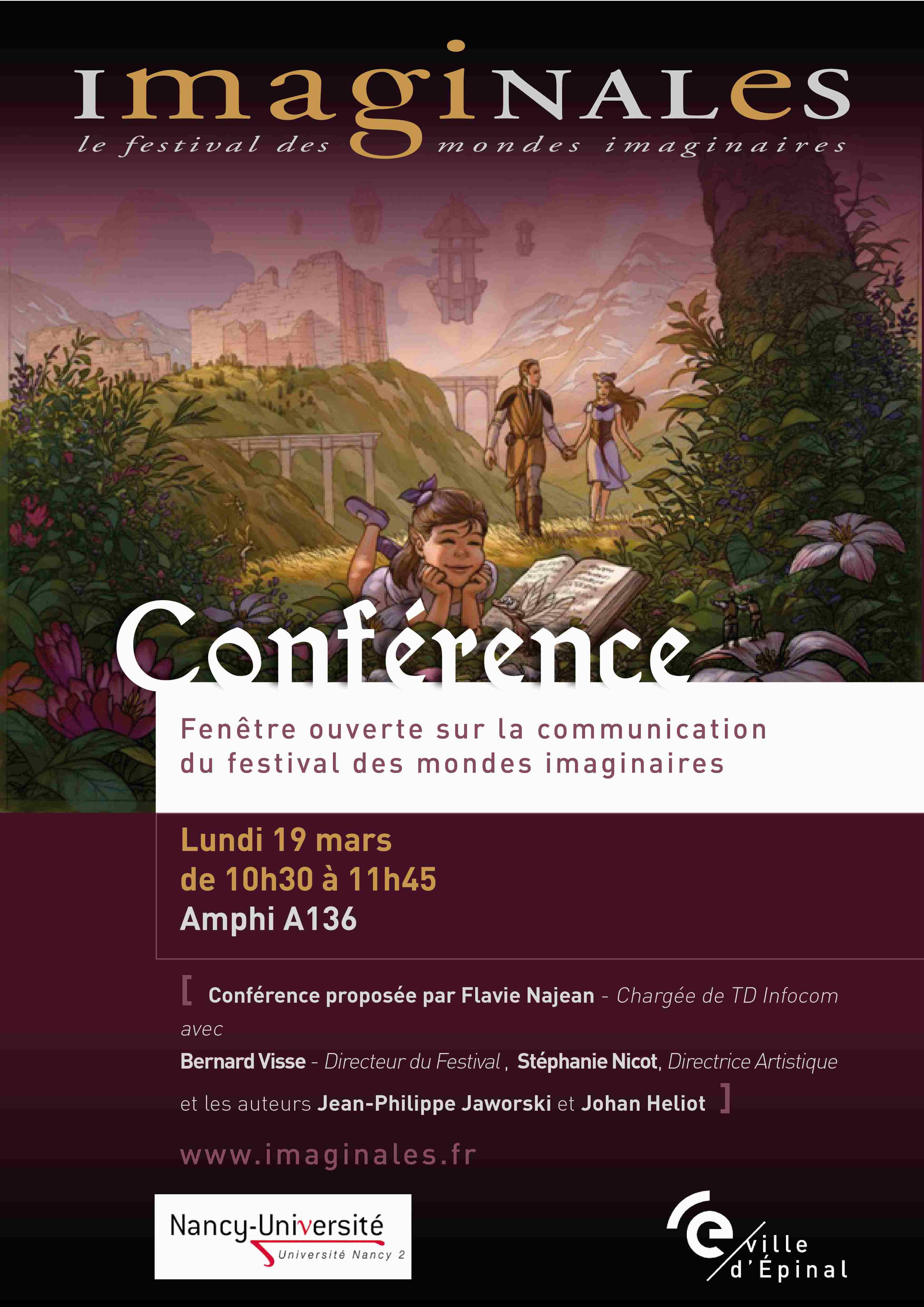 Programme contes et rencontres nyons 2017