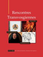 Rencontres Transvogiennes n°6 - Jean-Claude Fombaron
