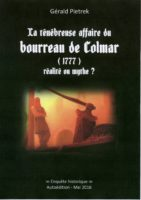 LA TENEBREUSE AFFAIRE  DU BOURREAU DE COLMAR - Gérald Pietrek