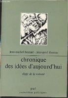 Chronique des idées d'aujourd'hui : éloge de la volonté - Jean-Michel Besnier